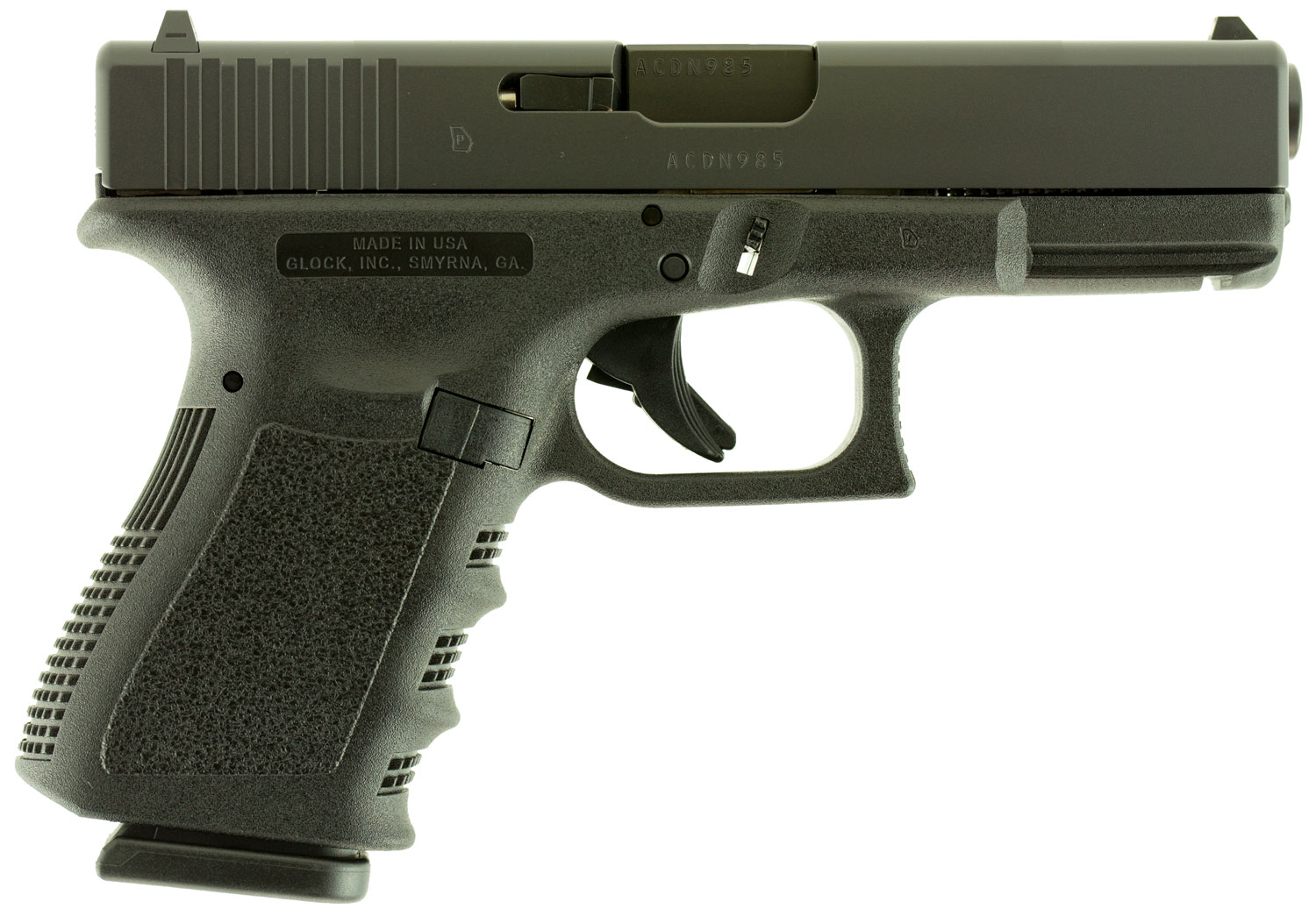 Glock UI1950201 G19 Compact 9mm Luger 4.01