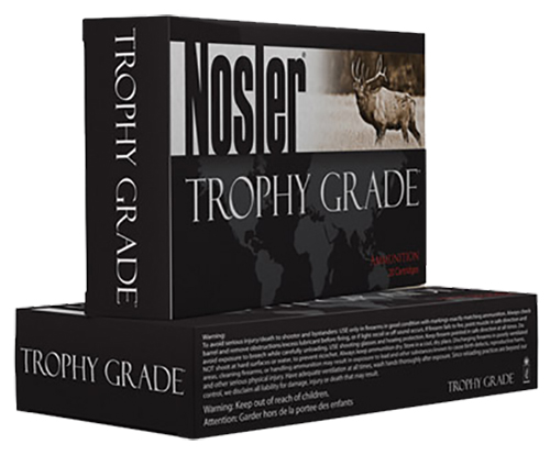 Nosler 60082 Trophy 338WinMag 250GR Partition 20Bx/10Cs Brass