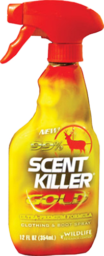 Wildlife Research Scent Killer  <br>  Gold Spray 12 oz.
