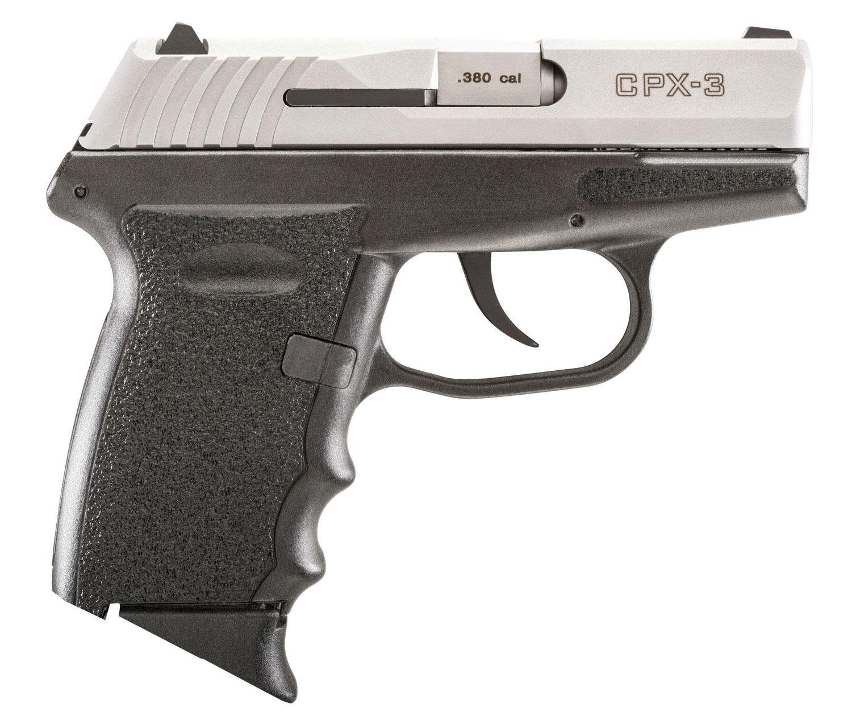 SCCY Industries CPX3TT CPX-3 Double 380 Automatic Colt Pistol (ACP) 2.96