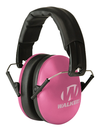 WALKERS MUFF SHOOTING PASSIVE YOUTH/WOMEN 27dB PINK