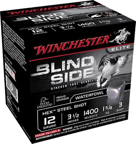 Winchester Ammo SBS12L3 Blindside 12 Gauge 3.5