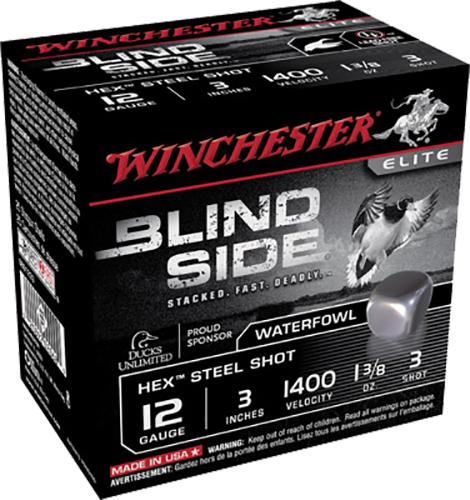 Winchester Ammo SBS1233 Blindside 12 Gauge 3