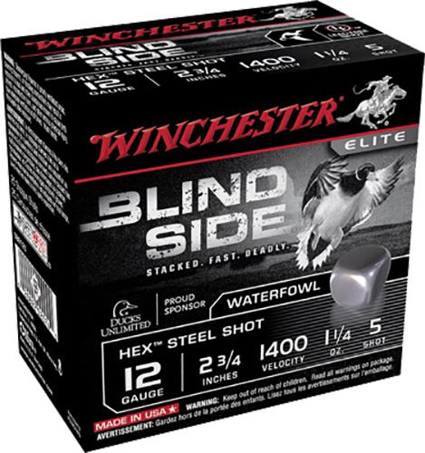 Winchester Ammo SBS125 Blindside 12 Gauge 2.75