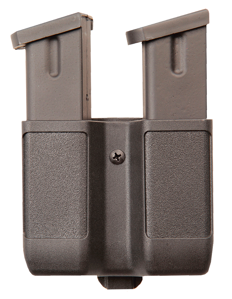 DOUBLE STACK DOUBLE MAG CASE - MATTE BLACK/FOR 9MM/40 CAL