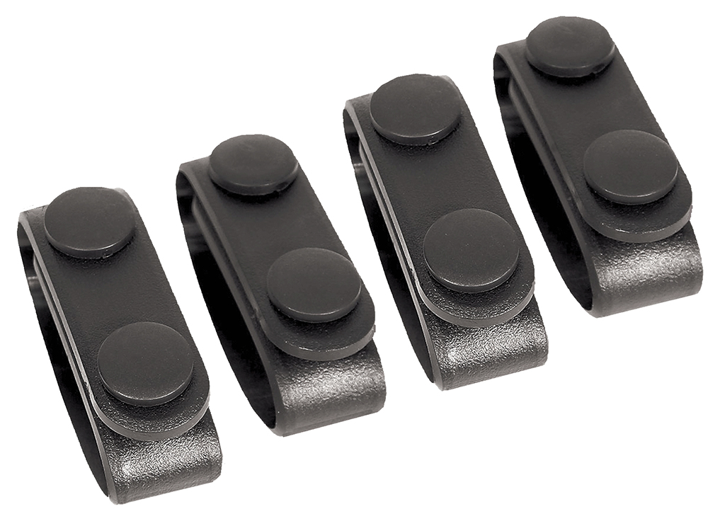 Blackhawk 44B300BK Belt Keeper Set of 4 Black Nylon