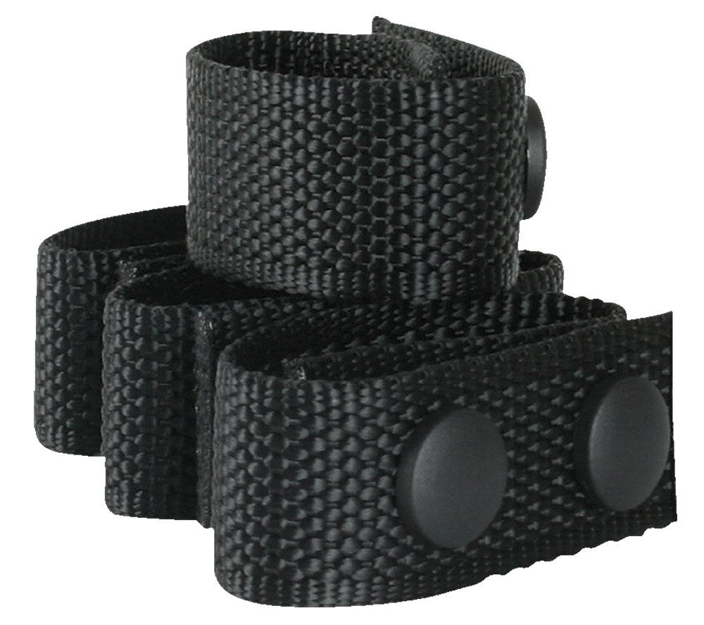 Blackhawk 44B351BK Belt Keeper Molded Cordura Nylon Black 2.25