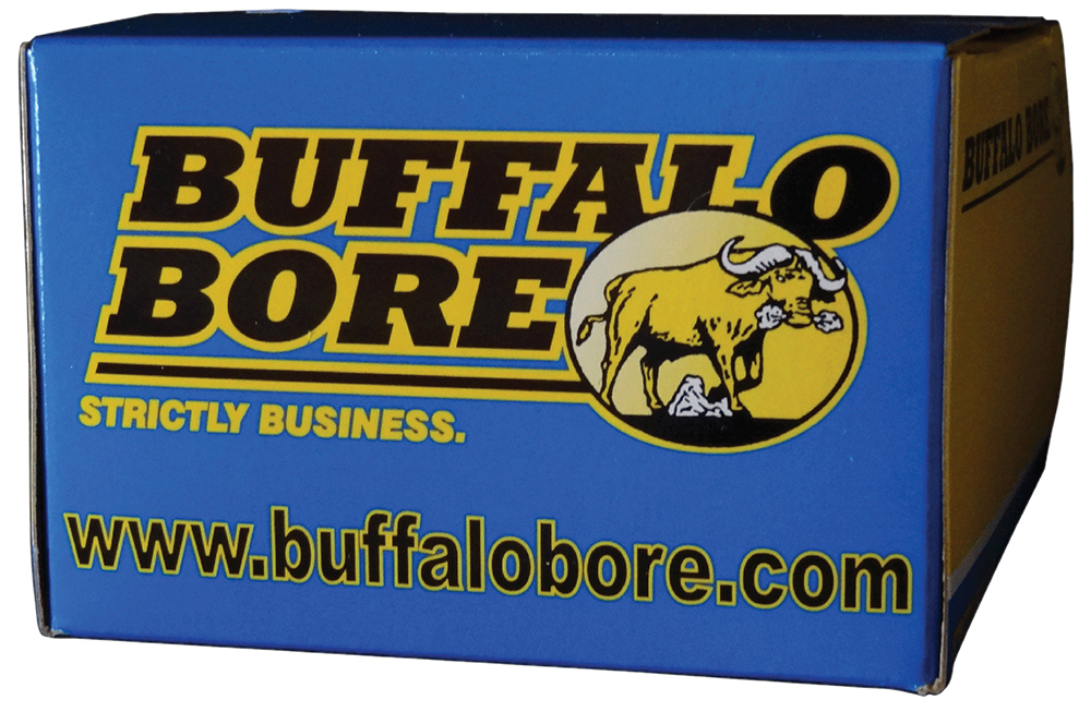 Buffalo Bore Ammunition 30A/20 32 ACP +P 75 GR Hard Cast Flat Nose 20 Bx/ 12 Cs