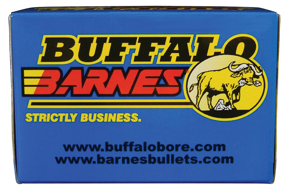 Buffalo Bore Ammo 23D/20 40 S&W Lead-Free Barnes TAC-XP 125GR 20Box/12Case