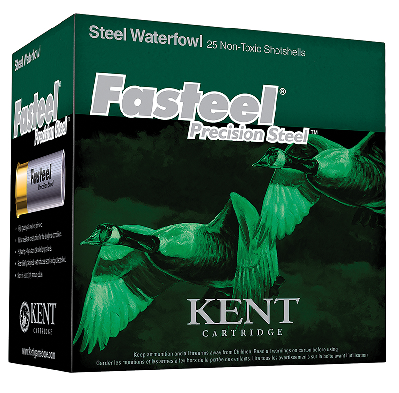 Kent Cartridge K122ST30BB Fasteel Waterfowl 12 Ga 2.75