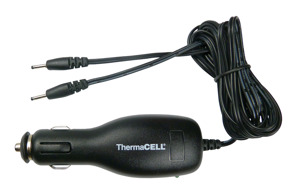 ThermaCell Original Heated  <br>  Insoles Car Charger