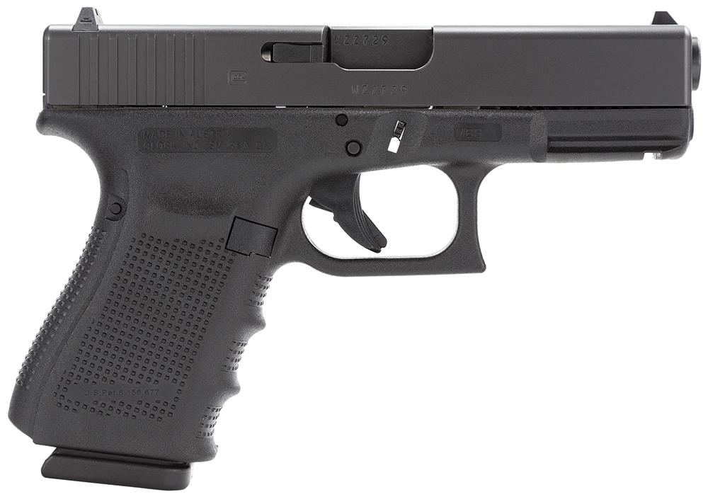 Glock PG3250201 G32 Gen 4 Double 357 Sig 4.01