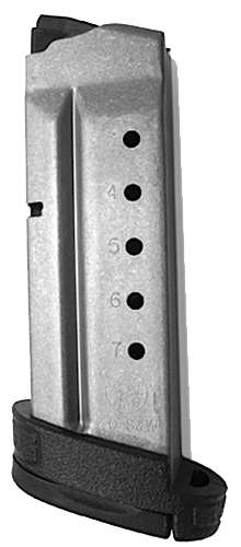 SW MAG SHIELD 40SW 7RD W/EXTENSION PKG