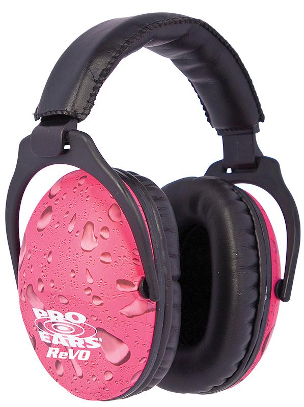 Passive ReVO Ear Muffs - NRR 25 Pink Rain