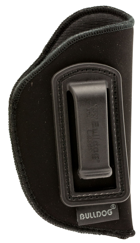 Bulldog DIP-1 Deluxe  Black Synthetic Suede IWB for Mini Semi-Auto Right Hand
