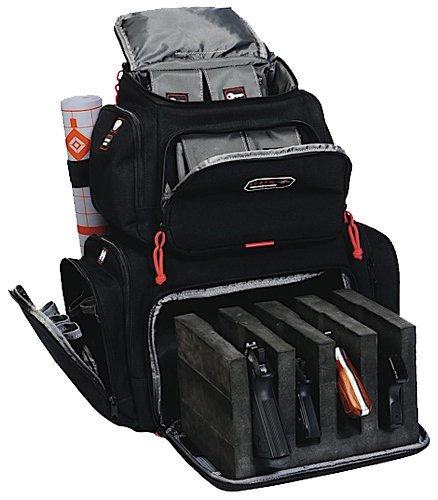 G-OUTDRS GPS HANDGUNNER BACKPACK BLK
