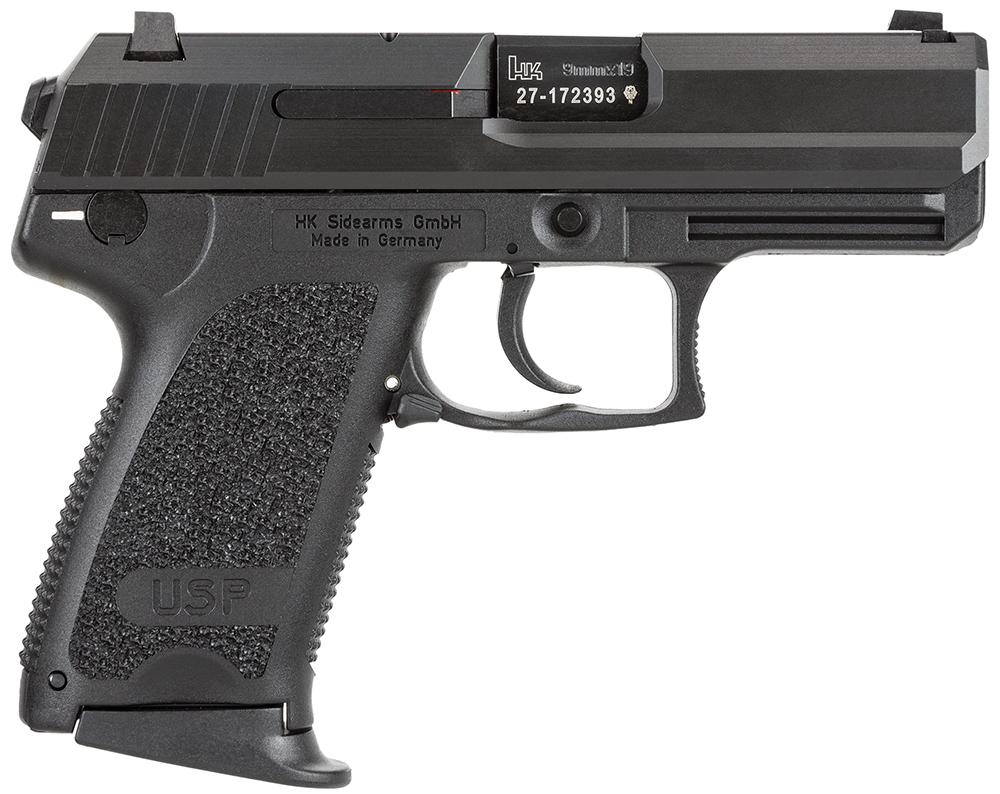 HK 81000335 USP Compact V7 LEM 9mm Luger 3.58