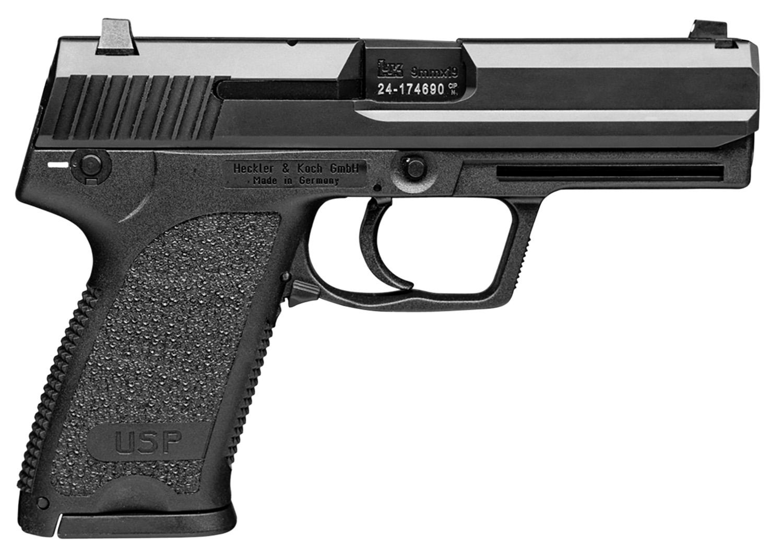 HK 81000311 USP V7 LEM 9mm Luger 4.25