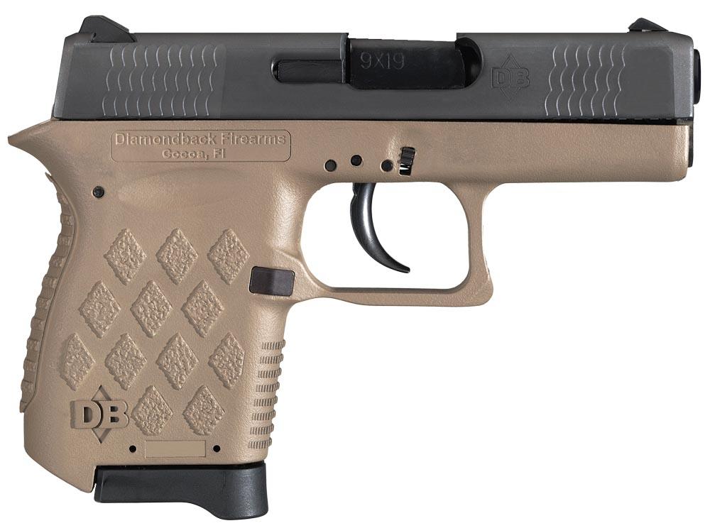 Diamondback DB9FDE DB9 Micro-Compact 9mm Luger 3.10