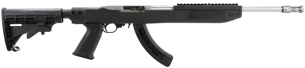 Ruger 11126 10/22 Tapco Fusion Stock Distributor Exclusive Semi-Automatic 22 Long Rifle 16.3