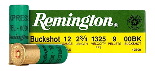 Remington Ammunition NS1235HVT Express 12 Gauge 2.75