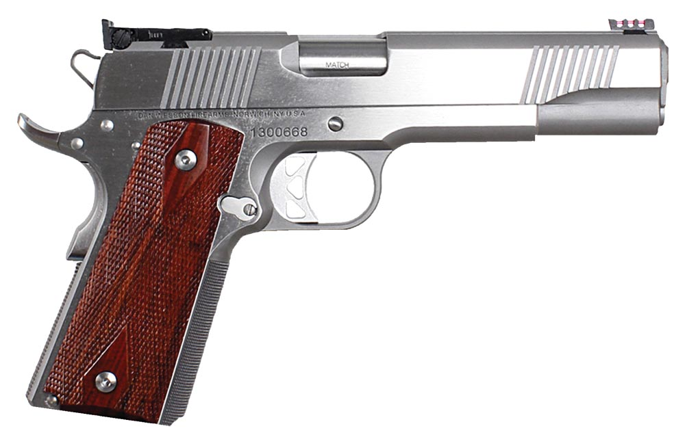 DW POINTMAN NINE 9MM SS 9+1 AS - 5 | STAINLESS/COCOBOLO GRIPS