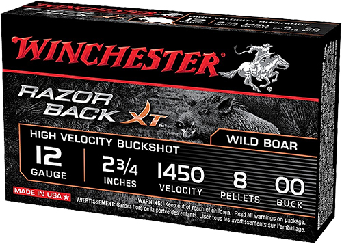 Winchester Ammo S12RB00 Razorback XT High Velocity 12 Gauge 2.75