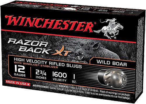 Winchester Ammo S12RBSS Razorback XT High Velocity 12 Gauge 2.75