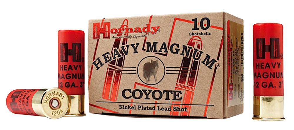 Hornady 86222 Heavyweight Coyote 12ga BB Nickel 10Bx/25Cs 3