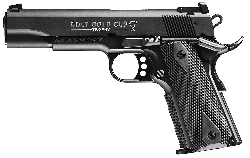 Walther Arms 5170306 1911 Colt Gold Cup  22 Long Rifle (LR) Single 5