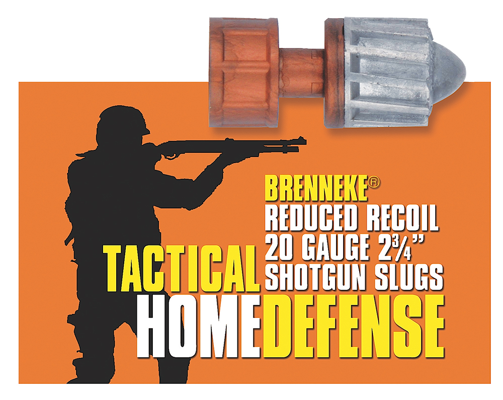 Brenneke SL202THD Tactical 20 Gauge 2.75