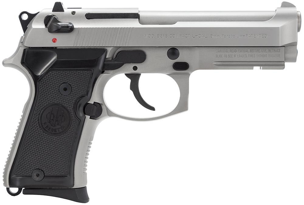 Beretta USA J90C9F20 92FS Compact  9mm Luger Single/Double 4.3