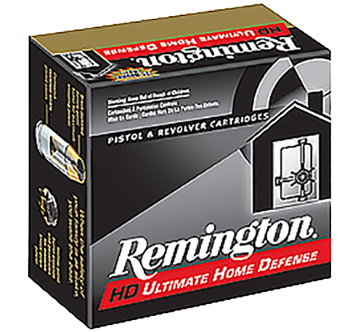 Remington Ammunition CHD45APBN Ultimate Defense Compact Handgun 45 Automatic Colt Pistol (ACP) 230 GR Brass Jacket Hollow Point 20 Bx/ 25 Cs
