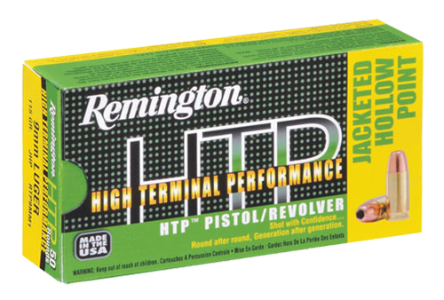 Rem Ammo RTP45AP2 HTP 45ACP 185GR Jacketed Hollow Point 50Bx/10CS
