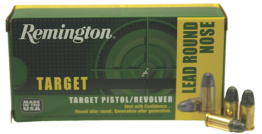 Remington Ammo RTG38S5 TAR 38 Special  Lead Round Nose 158GR 50Bx/10Cs