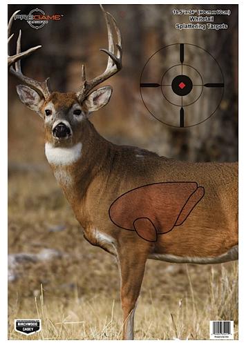 Birchwood Casey 35401 Pregame Whitetail Deer Target Pregame Whitetail Deer Target