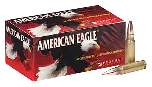Federal AE68A American Eagle Rifle  6.8mm Remington SPC 115 GR Full Metal Jacket 20 Bx/ 10 Cs
