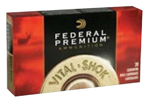 Federal P270WSMTT3 Premium   270 Winchester Short Magnum (WSM) 140 GR Trophy Bonded Tip 20 Bx/ 10 Cs