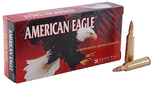 Federal AE300BLKSUP2 American Eagle Rifle Suppressor  300 AAC Blackout/Whisper (7.62x35mm) 220 GR Open Tip Match 20 Bx/ 25 Cs