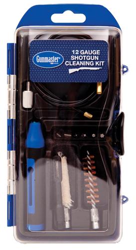 DAC GM12SG 12ga Shotgun Cleaning Kit Clamshell 14-Piece Plastic Case