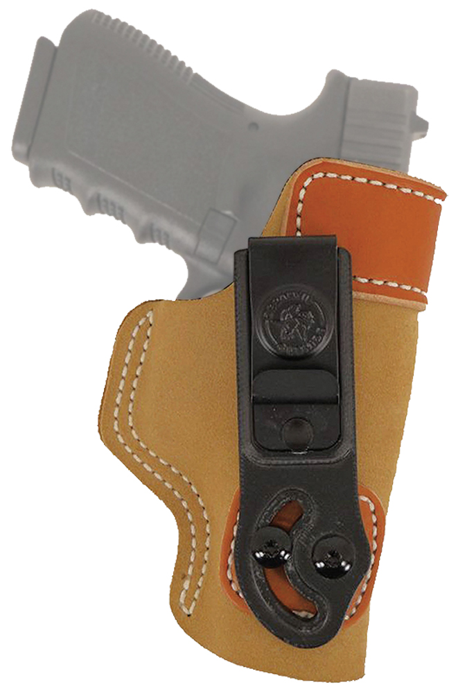 Desantis Gunhide 106NAI4ZO Inside The Waistband Holster Sof Tuck S&W M&P Shield 9/40 Suede Brown