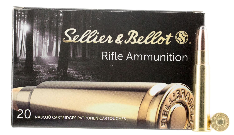 Sellier & Bellot SB303C Rifle 303 British 180 GR Soft Point 20 Bx/ 20 Cs