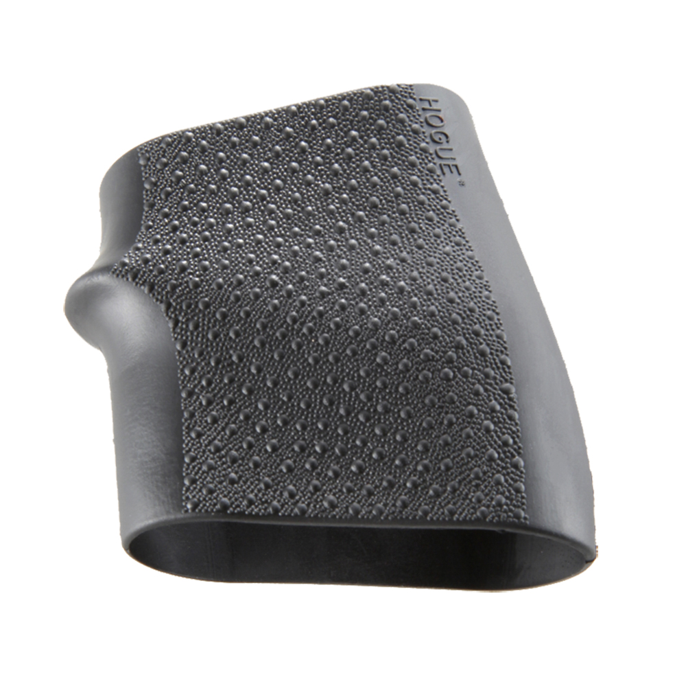 Hogue 18000 HandAll Jr.  Grip Sleeve Most 22, 25, 38 Pistols Textured Rubber Black