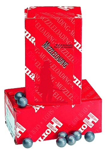 Hornady 6100 Lead Balls 54 Black Powder Lead Balls 224 gr 100 PK