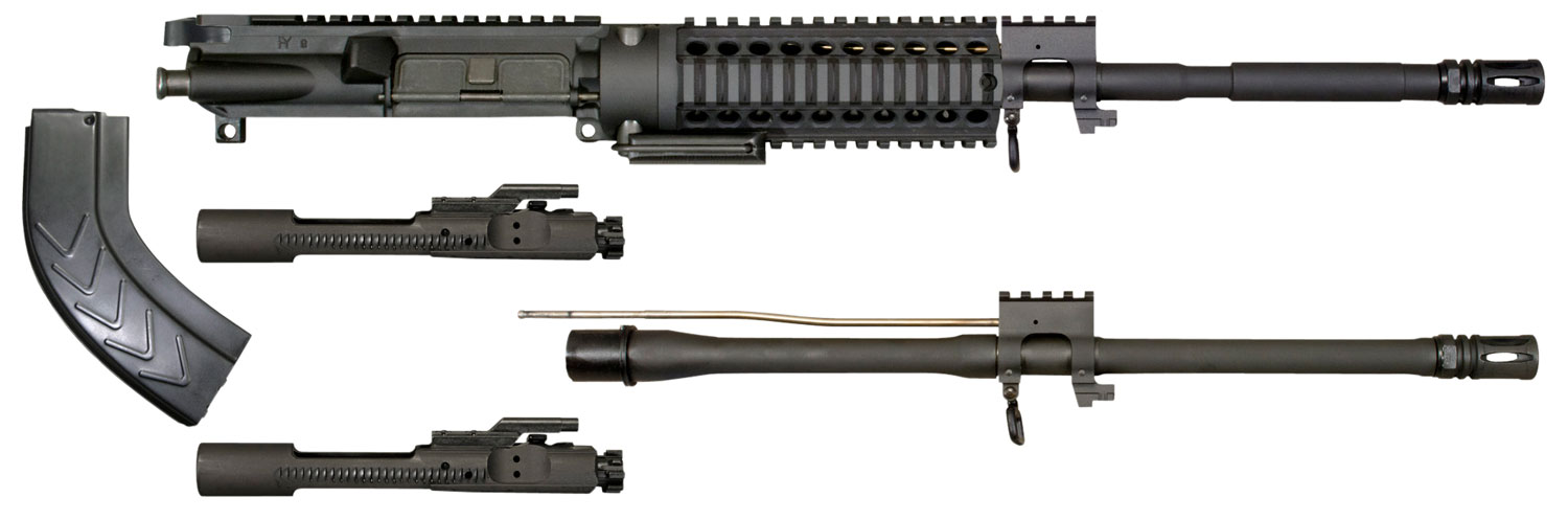 Windham Weaponry KITMCS3 Multi-Caliber Upper Kit 300 AAC Blackout/Whisper (7.62x35mm) 16
