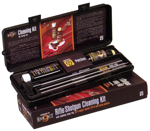 Hoppes PCO38 Pistol Cleaning Kit .38/357/9mm Caliber w/Plastic Box