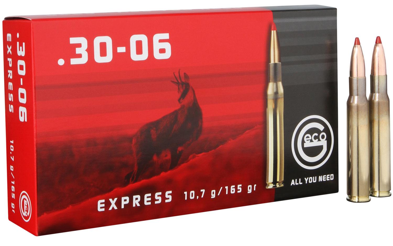 280640020 Express Geco  30-06 Springfield 165 GR Express Tip 20 Bx/10 Cs