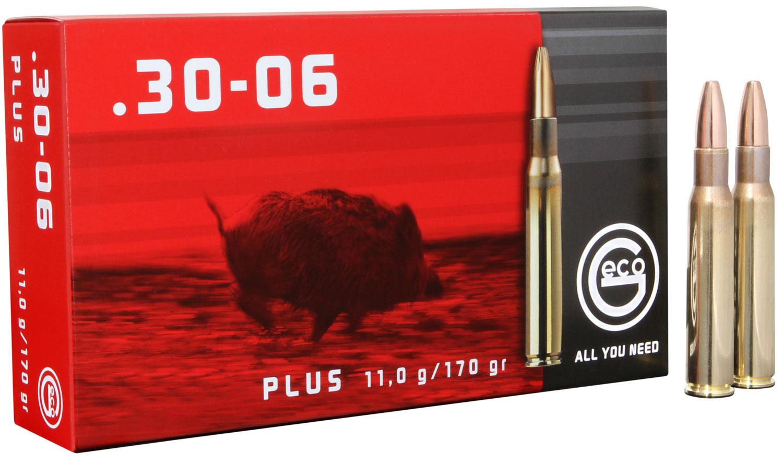 280740020 Plus Geco  30-06 Springfield 170 GR Plus 20 Bx/10 Cs