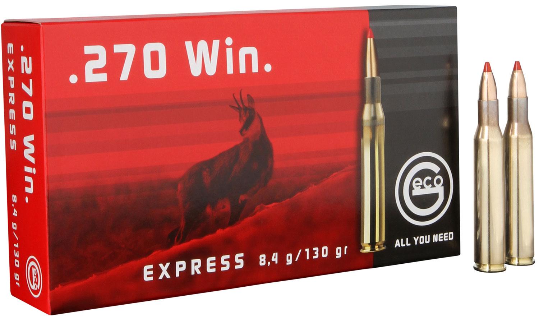 283640020 Express Geco  270 Winchester 130 GR Express Tip 20 Bx/10 Cs
