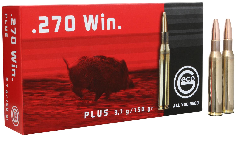 283740020 Plus Geco  270 Winchester 150 GR Plus 20 Bx/ 10 Cs